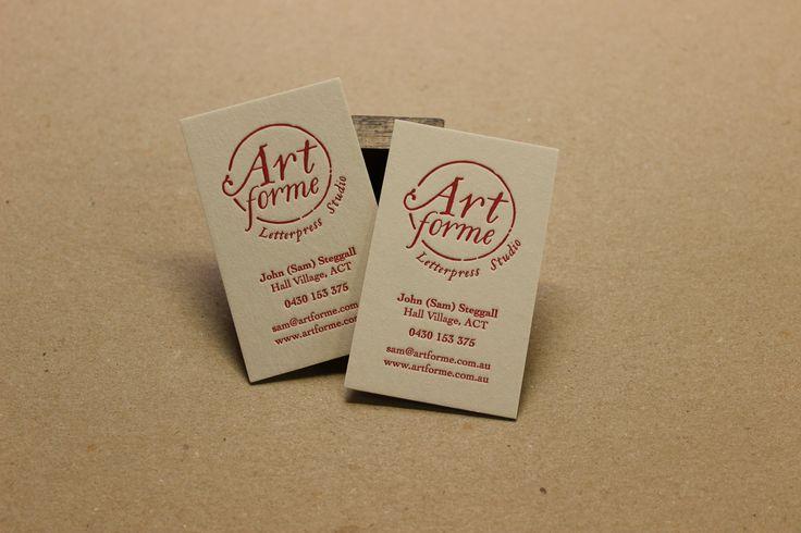 New logo, new business cards for Artforme.