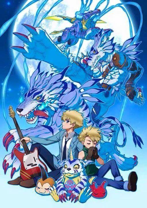 Digimon tri - yamato & gabumon