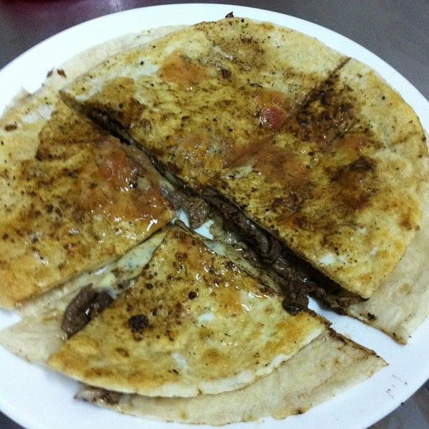 QUESADILLA MIXTA FAMILIAR CARNE POLLO !!!