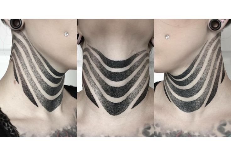Fresh WTFDotworkTattoo Find eviezozo: So my husband finished my neck! Piece of…