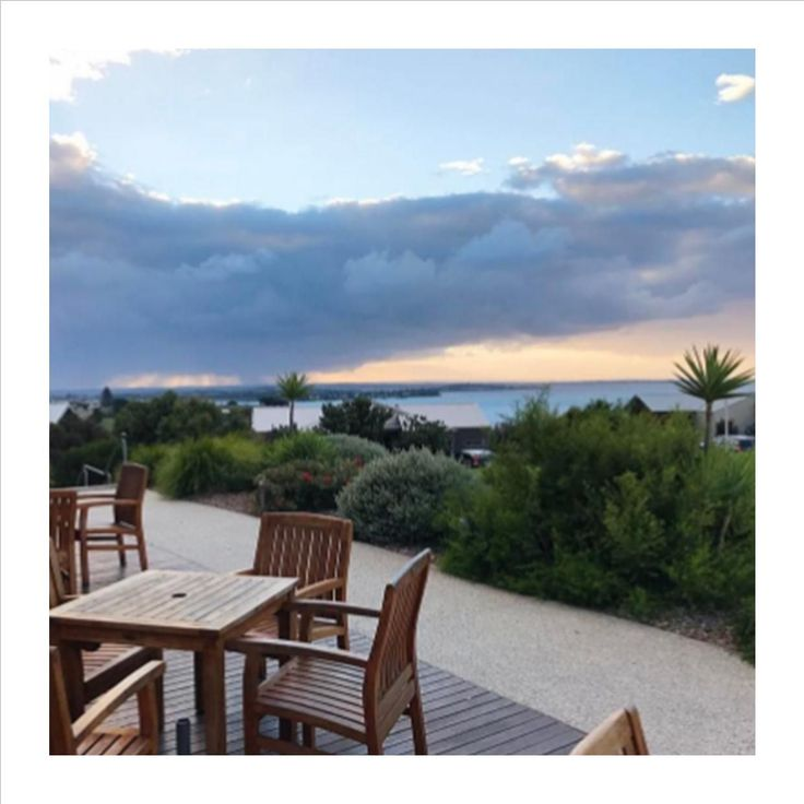 clouds can't hide that view #silverwaterresort