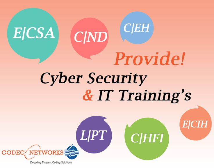 Codec Networks Provide Cyber Security or end-to-end Information Security Services.  Codec Networks Provide Online Training like Python , CISCO , CCNA , JAVA , Android & more Training's in Delhi , India .