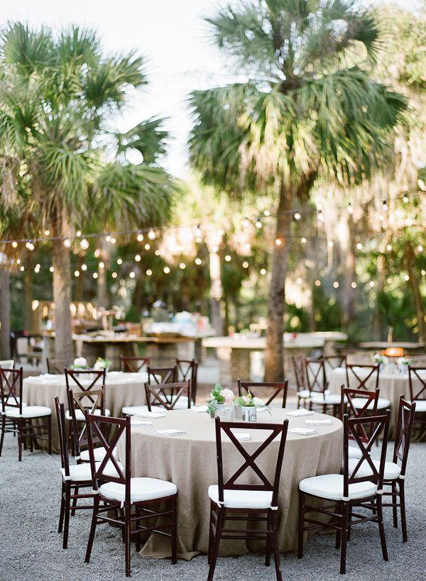 outdoor dinner   Kay English #wedding
