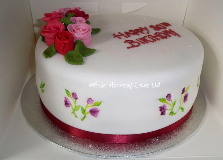 Truly Amazing Cakes - Ladies  birthday cakes birthday ...