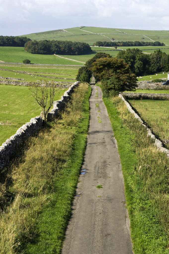 This is along the Tissington Trail in the Derbyshire Peak District, a cycling trail following the former railway line between Buxton and Ashbourne,UK
