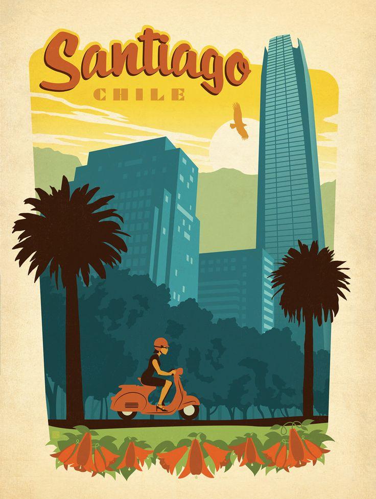 barcelona vintage travel poster - Google Search