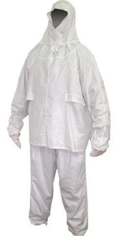 Маскировочный костюм белый армейский