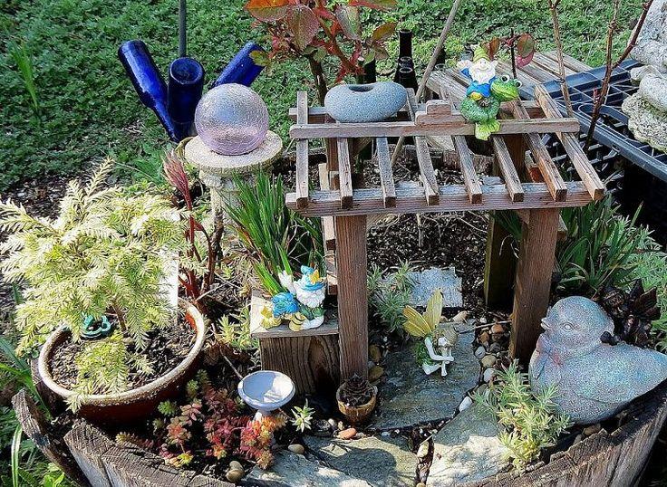 Garden in a barrel
