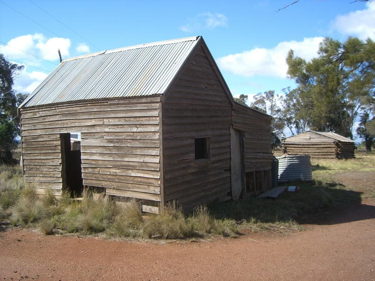 Now this is an old house, Bogan gate NSW Australia