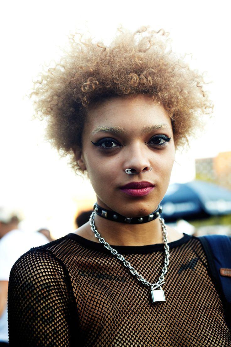 marti ragan iD Magazine Afro punk, Hair with flair