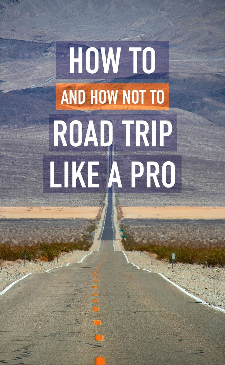 How to plan your big road trip