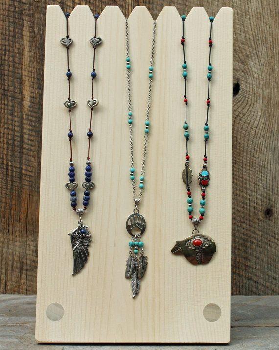 Multi collar de exhibición 14 x 8 exhibición de la