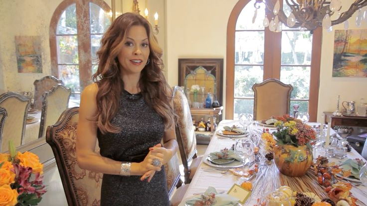 Brooke Burke's Holiday Table - Thanksgiving with ModernMom