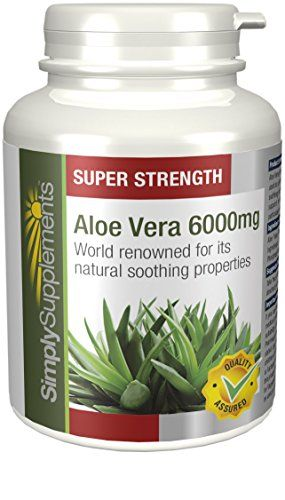 SimplySupplements Aloe Vera 6000mg |For a Healthy Digestive System| 360 Tablets - http://vitamins-minerals-supplements.co.uk/product/simplysupplements-aloe-vera-6000mg-for-a-healthy-digestive-system-360-tablets/