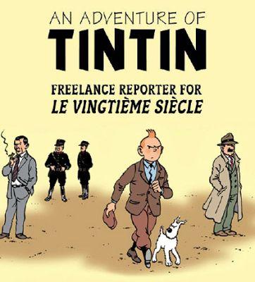 Free download Pdf files: Tintin comics : Tintin the Freelance Reporter
