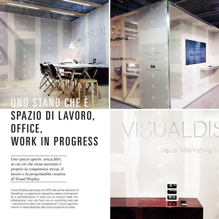 Progetto Stand e Brand Identity Visual Display   Alk  @shopexpo Milano SuperstudioPiù 2105