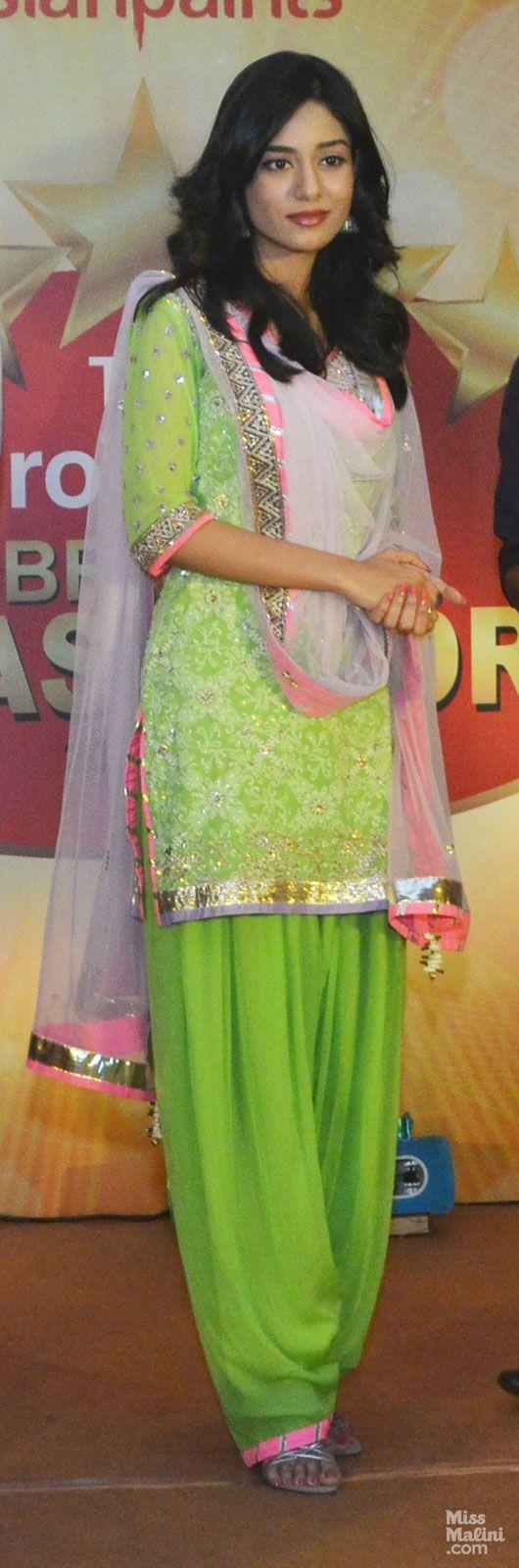 Amrita Rao in Kanika Kedia Patiala Suit