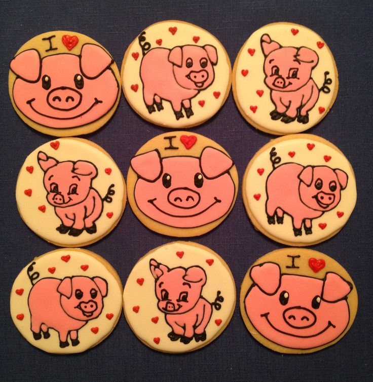 Little pig, little pig you are a cookie now!