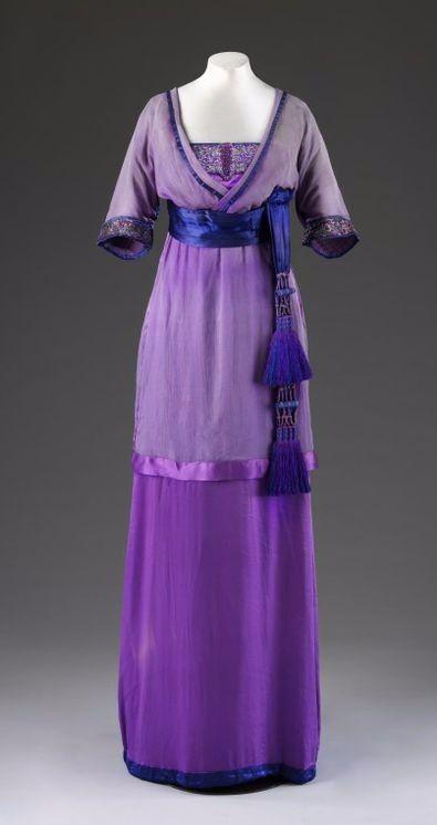 Вечернее платье 1910-х гг.