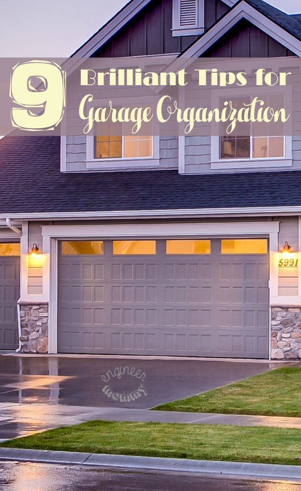 9 Brilliant Garage Organization Tips