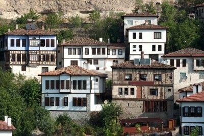 Traditional houses in Safronbolu, Turkey