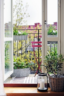 Nice things: Balcony decoration ideas part 1 - Ιδέες διακόσμησης για το μπαλκόνι μέρος 1ο
