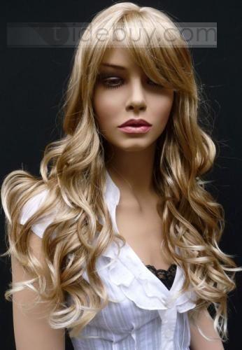 Meilleures Ventes Perruques de Cheveux Séduisant Bouclés Longues 18 pouces (Livraison gratuite)