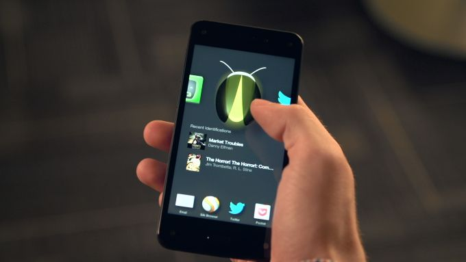 Hands On With The Amazon Fire Phone