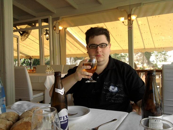Η φωτογραφία μου αυτή τραβήχτηκε στο εστιατόριο ΝΗΣΑΚΙ της πόλης της Δράμας στην περιοχή της Αγίας Βαρβάρας. #fixhellas