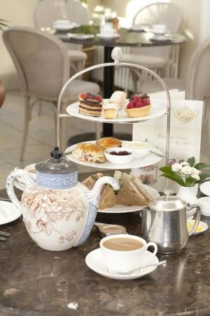 Afternoon Tea at Bettys, Yorkshire