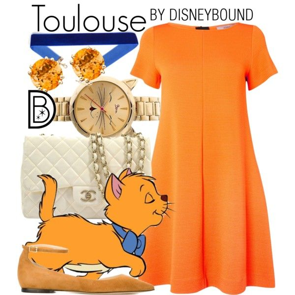 Aristcats: Toulouse  http://disneybound.co/post/154012513263