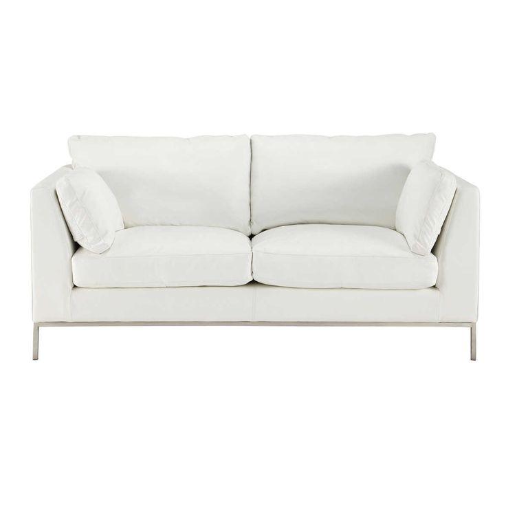 M s de 25 ideas incre bles sobre sof s de cuero blanco en - Sofa cuero blanco ...
