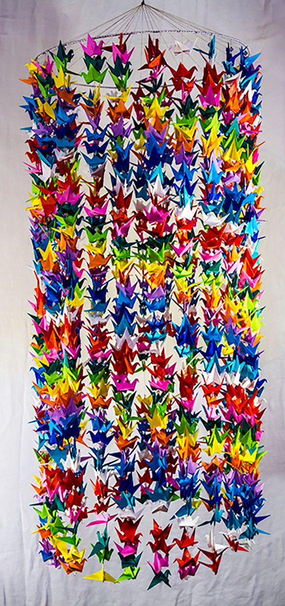 38 best images about my origami creations on pinterest for 1000 paper cranes wedding decoration