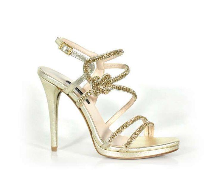 Collezione scarpe da cerimonia Albano Primavera Estate 2016 - Sandali gioiello Albano
