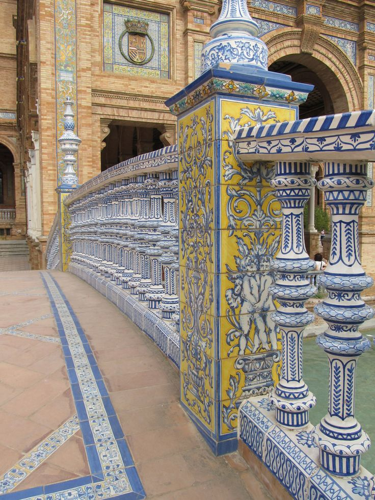 Rincones de Andalucía: Plaza España de Sevilla / Places of Andalusia: Spain Square in Seville