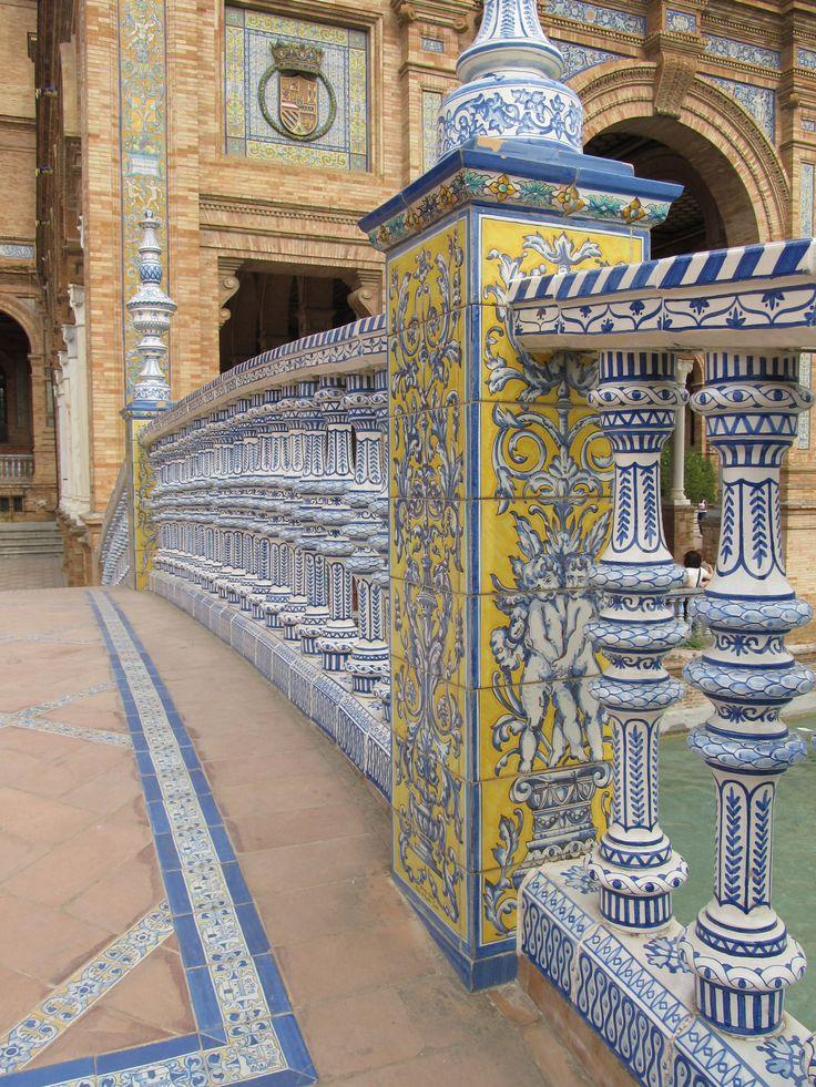 Rincones de Andalucía: Plaza España de Sevilla / Places of Andalusia: Spain Square in Seville