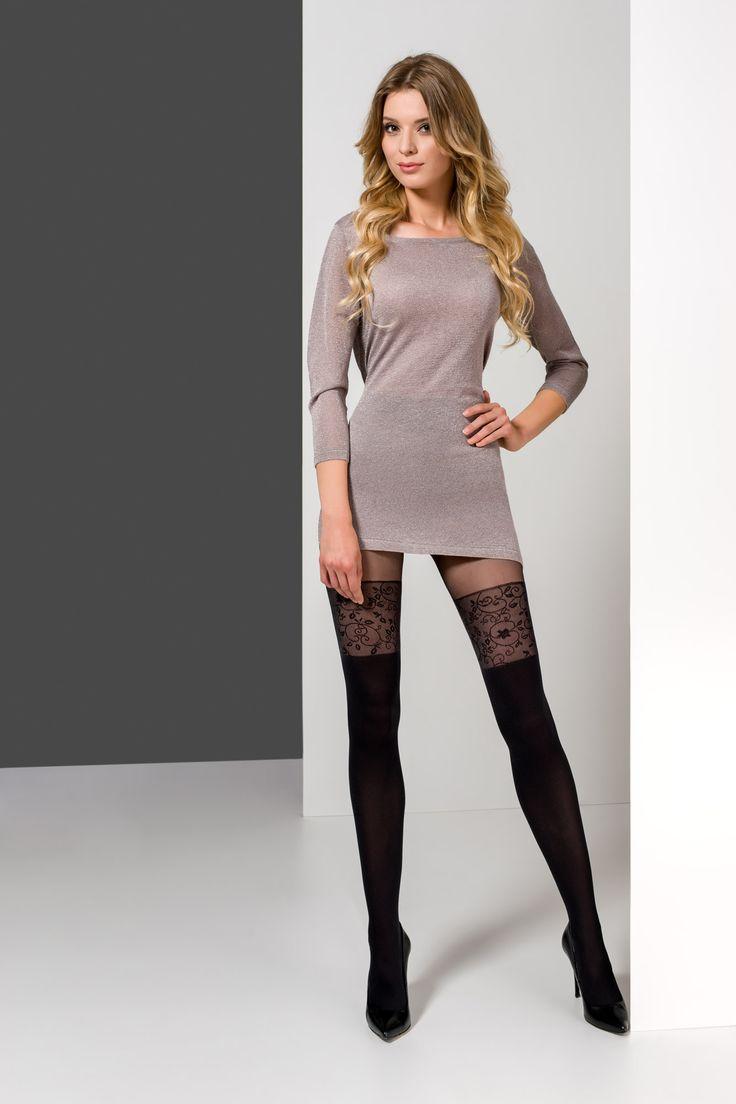 ILIA 26 #tights #pattern #woman #legs #legwear #stockingimitation #rajstopy #wzorzyste #kobieta