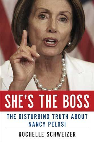 """Just find this post on our facebook timeline and click """"like"""" beneath the post: ta da! You're entered. If you're chosen (by automated sotware) as the winner I'll personally rush you this brand new hardback edition of She's the Boss: The Disturbing Truth About Nancy Pelosi by Rochelle Schweizer. But hurry! This contest ends Sunday night at the very stroke of 9pm est when the software selects the winner from among the """"likes"""""""