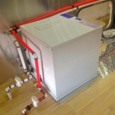 Rv hot water heater hook up