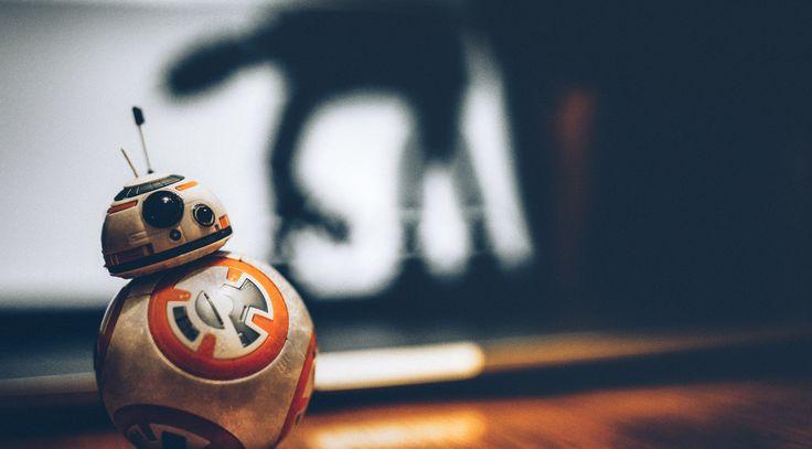 Big dreams - The macro life of a BB-8 droid I put together