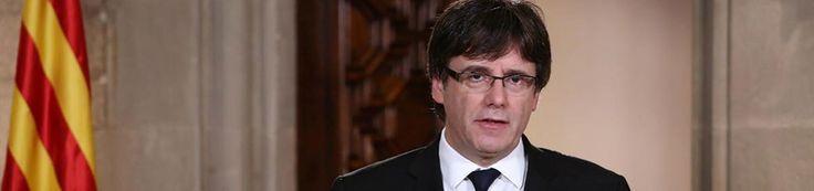Puigdemont no convoca elecciones y deja en manos del Parlament la decisión sobre la independencia