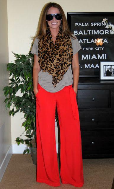 red + leopard print