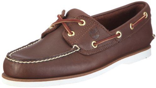 Timberland Men's Classic Two-Eyelet Rubber-Sole Boat Shoe