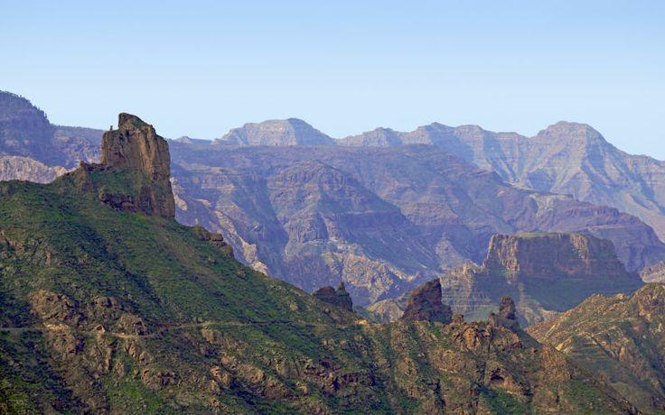 """Bjerglandskabet på Gran Canaria er fascinerende, og der er en grund til at det bliver kaldt for """"Mini-Grand-Canyon""""! Se mere på www.apollorejser.dk/rejser/europa/spanien/de-kanariske-oer/gran-canaria"""