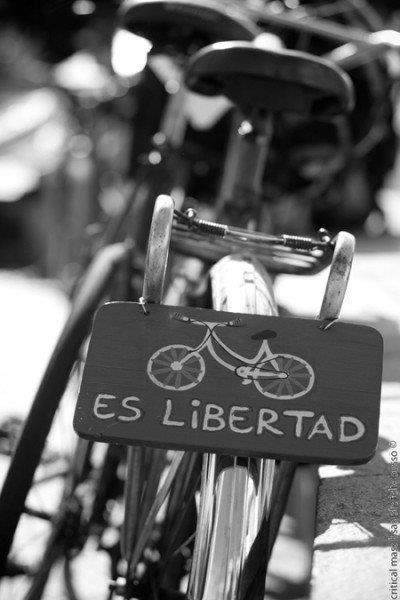 A vida em cima de duas rodas pedalar