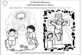 La Catequesis (El blog de Sandra): Recursos Catequesis Santo Rosario para Colorear - Mes de Octubre
