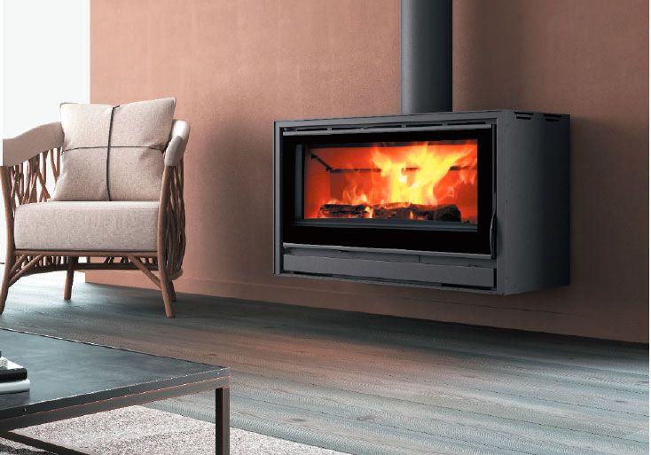 Carbel: chimeneas y estufas de leña – Estufa con recubrimiento RC-100 Plus