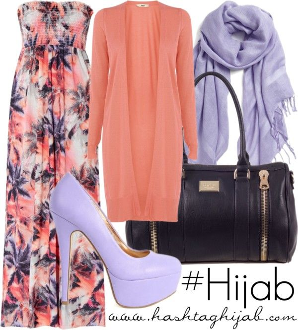 Hashtag Hijab Outfit #398 different I love it. Great for summer.