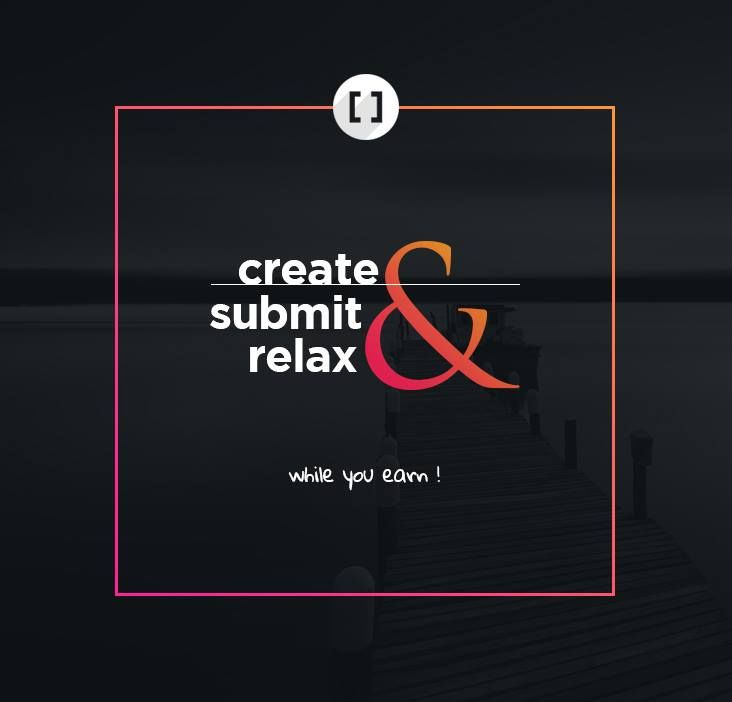 Create, Submit & Relax.. While you Earn.... No running behind companies to sell your creations.  Join us at http://www.3rdbracket.com   #Creative