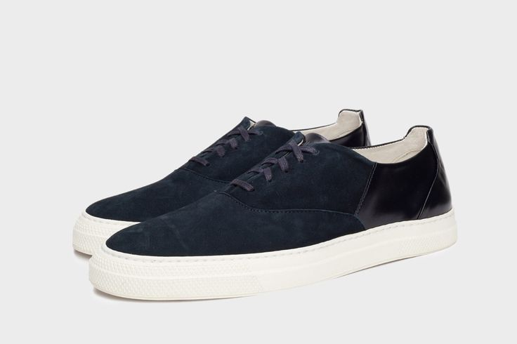 get to know #folkclothing #sneakers Isa - Navy